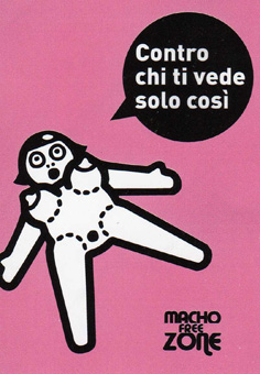 Macho free zone rosa