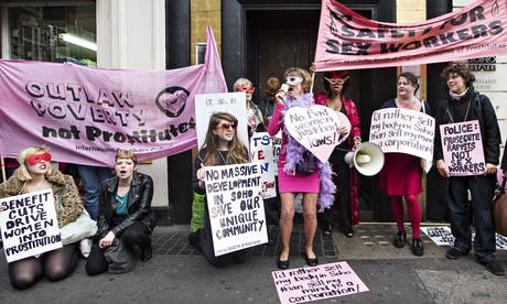 soho sex workers protest