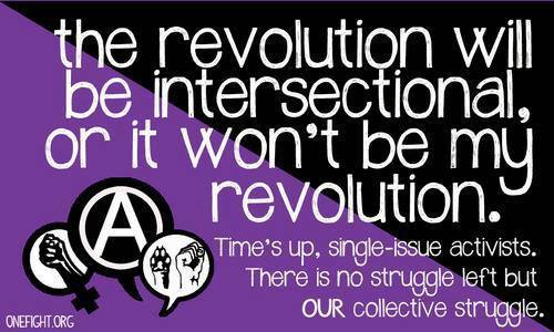 The revolution will be intersectional or it won't be my revolution
