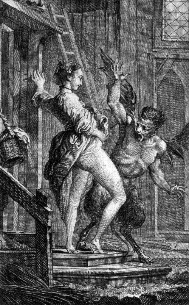 Le Diable de Papefiguiere, by Charles Eisen