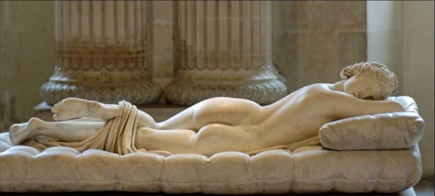 L'Ermafrodito dormiente (Parigi, Louvre)
