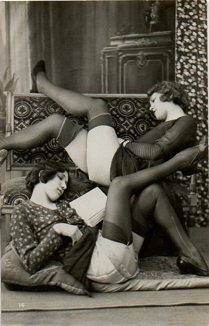 woman-reading-vintage-photograph