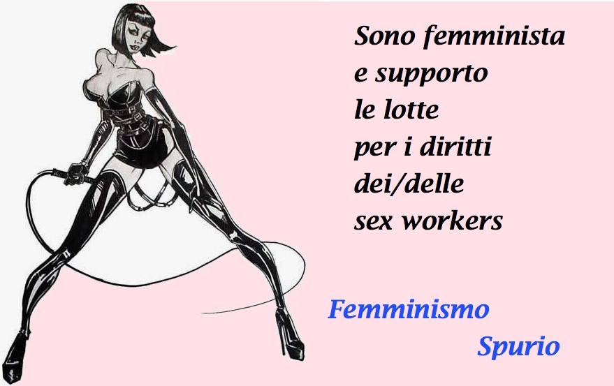 """Immagine tratta dalla campagna """"Pronunciate il vostro femminismo Spurio. Sei femminista e...?"""