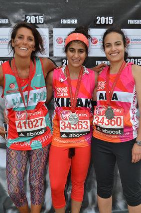 Kiran Ghandi, ha partecipato alla maratona di Londra senza assorbente contro lo stigma delle mestruazioni