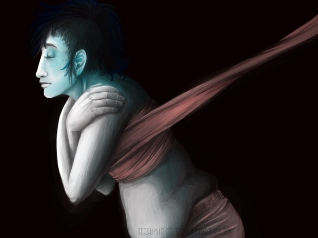 FTM Chest Binding Painting By Mika Darling