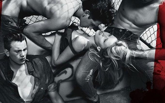 La pubblicità di Calvin Klein segnalata perché banalizza lo stupro