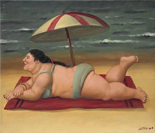 fernando-botero-the-beach-83337