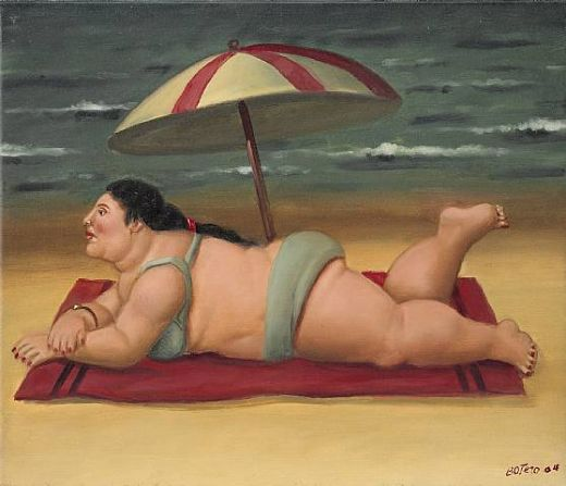 fernando-botero-the-beach-83337