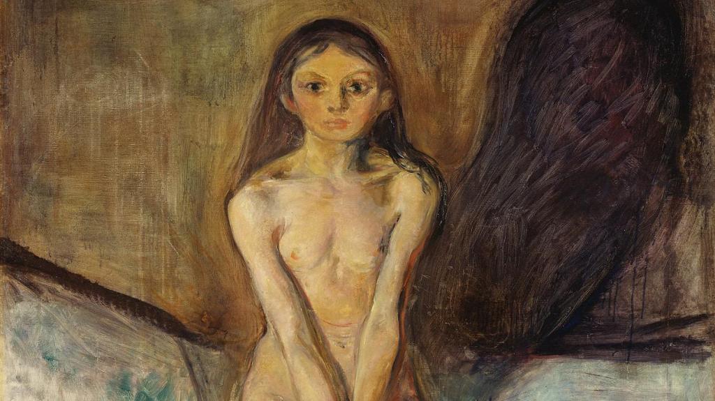 L'opera è Pubertà di Munch